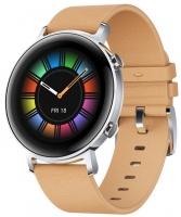 huawei watch gt 2 classic 42mm gravel beige smart