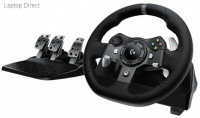 logitech g920 racing wheel for pc or xbox one video game accessory