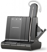 plantronics savi office dect wireless headset with base