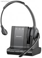 plantronics savi office wireless monaural headset with telephone