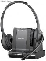 plantronics savi office wireless binaural headset with telephone