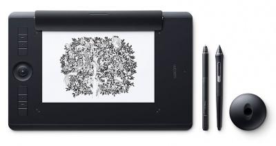 Photo of Wacom Intuos Pro M Medium Tablet Black Multitouch with Pro Pen 2 Stylus