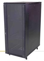 unbranded 22u 600 x 1000mm mesh front solid back