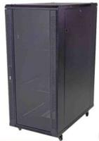 unbranded 27u 600 x 600mm standing cabinet glass door
