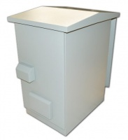 unbranded outdoor 42u 19 ip55 ventilated cabinet 600mm x