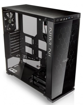 Photo of In Win 805 Black With Windowed Side Panel No PSU ATX PC case