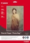 canon fapr1 fine art paper photorag 20 x a4 printer paper