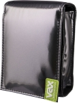 vax 170002 bailen metallic grey camera bag cellular accessory