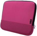 "Photo of Vax -18002 Fontana 14"" notebook sleeve. Magenta with black r"