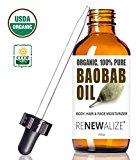 unbranded usda certified organic baobab seed oil in large 4 tenni