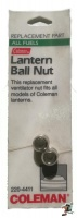 coleman lantern ball nut camping equipment