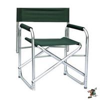 bushtec aluminium directors chair camping furniture