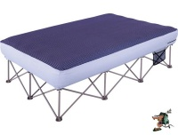 oztrail anywhere bed queen 240 kg camping furniture