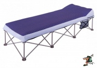 oztrail anywhere bed single 120kg camping furniture