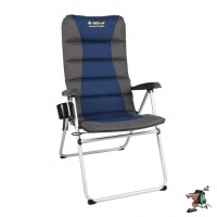 oztrail cascade 5 position armchair 150kg camping furniture