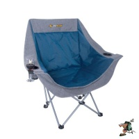 oztrail moon chair single with arms 120 kg camping furniture