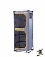 oztrail 5 shelf camp cupboard with steel frame camping furniture