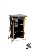 oztrail 3 shelf deluxe camp cupboard camping furniture