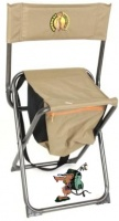 bushtec meerkat high back shooters stool camping furniture