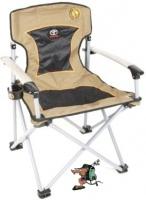 bushtec meerkat solid armchair camping furniture