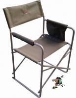 bushtec steel directors chair camping furniture