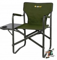 oztrail directors classic chair with side table camping furniture