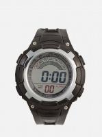 digitime lcd sports digital watch black mens watch