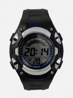 digitime lcd stud digital watch blue mens watch