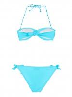 aqua bikini blue