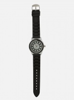 digitime rim analogue watch black mens watch