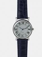 digitime dapper analogue watch blue mens watch