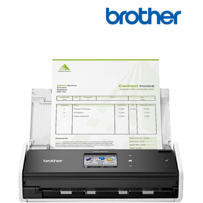 Photo of BROTHER ADS-1600W Compact Double Sided Document Scanner